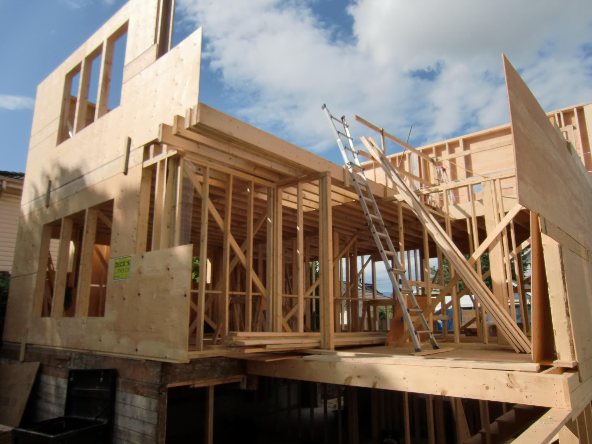 Construction Renovation House Framing Alma Vancouver