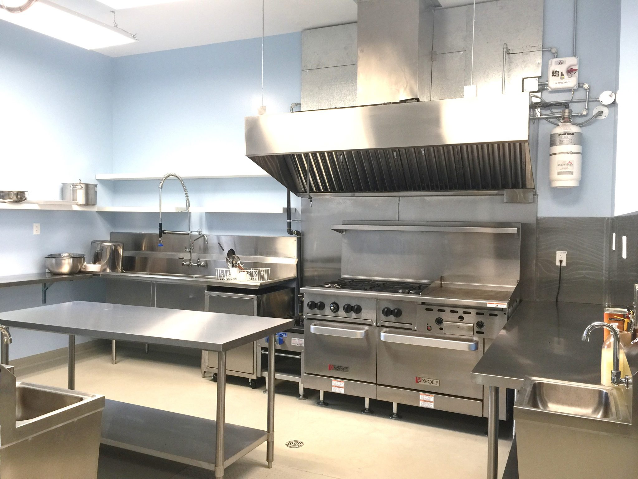 Construction Renovation Commercial Kitchen Alma Vancouver