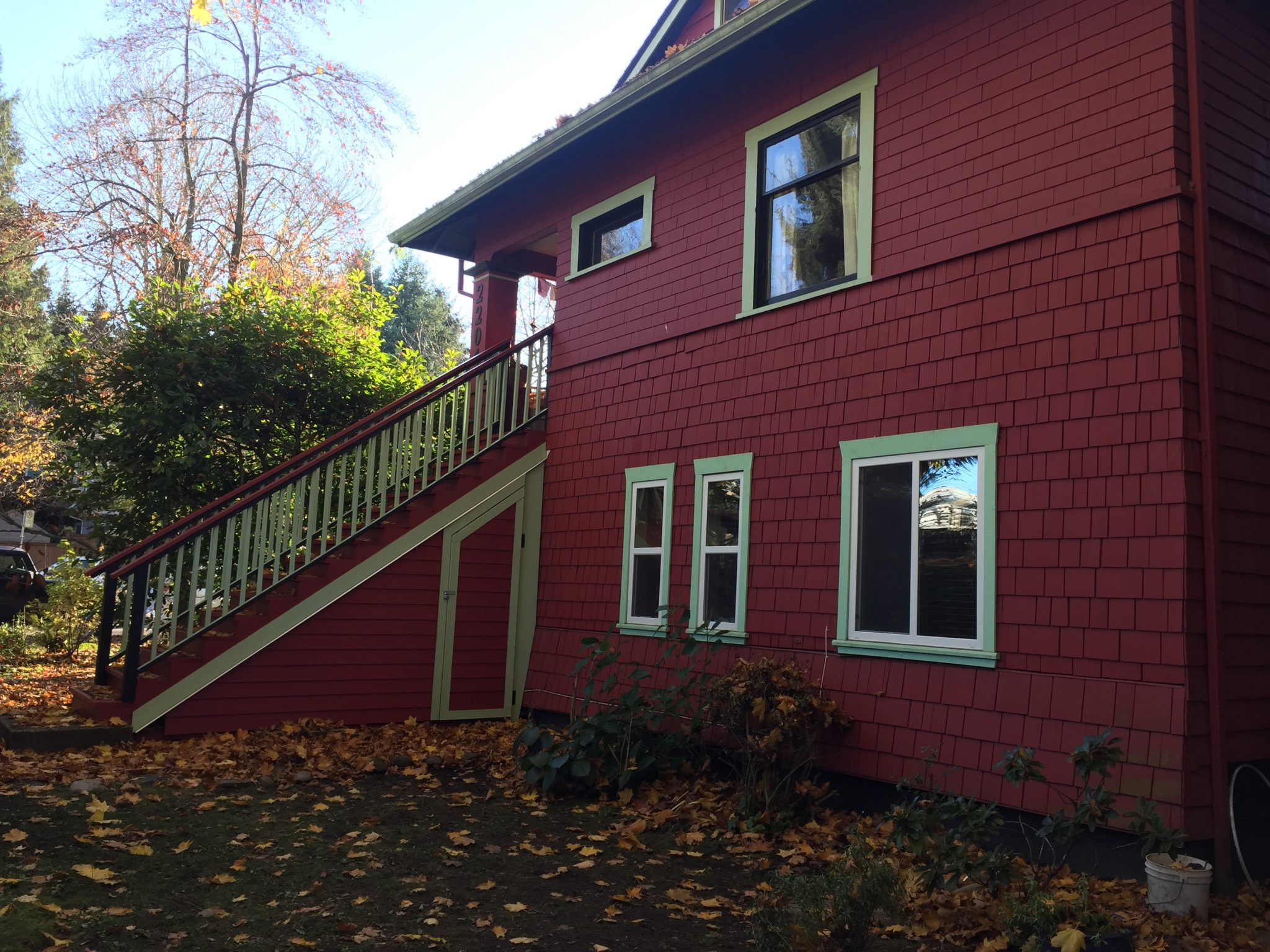 Construction Renovation Exterior Painting Alma Vancouver