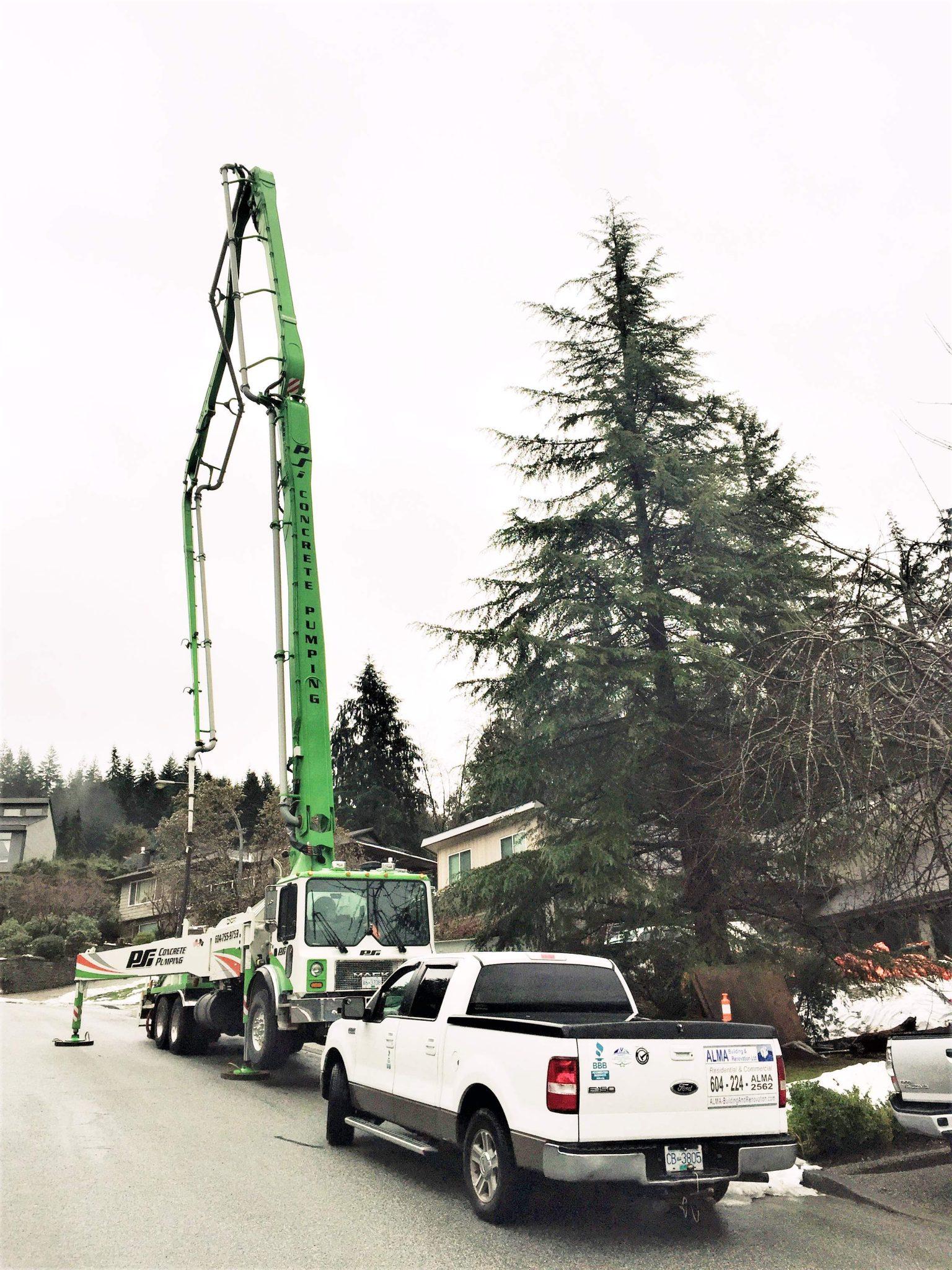 Construction Renovation Concrete foundations Alma Vancouver