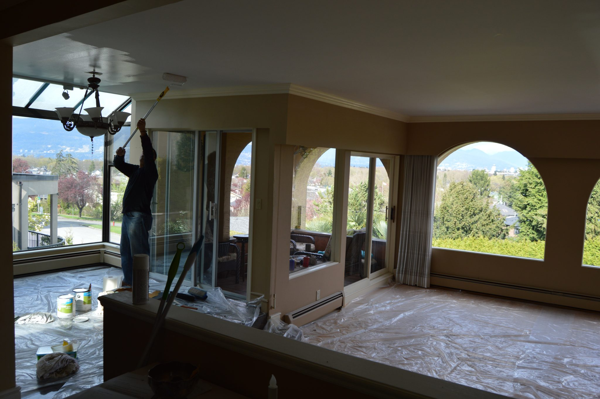 Construction Renovation painting Vancouver