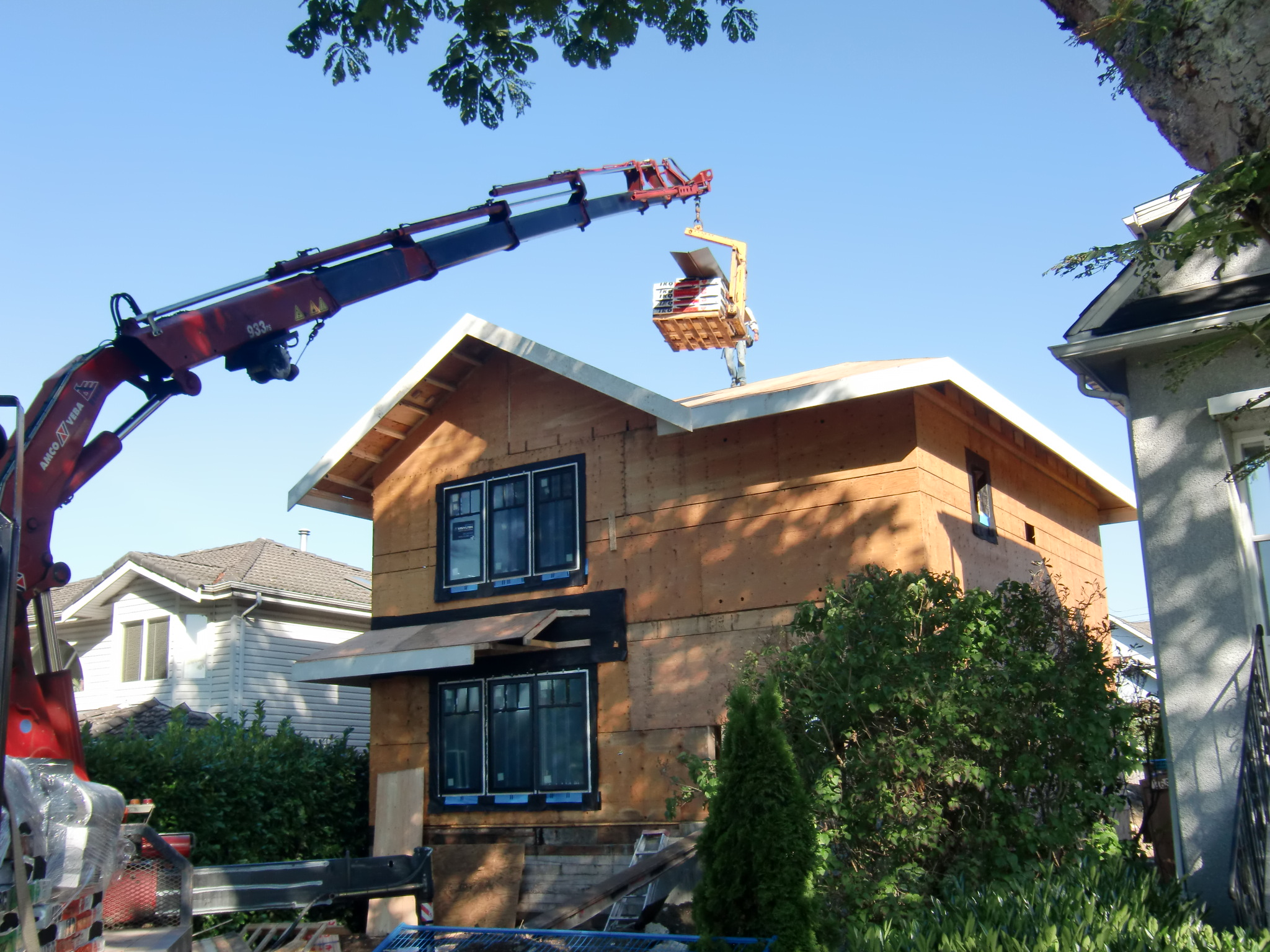 Construction Renovation Roofing Alma Vancouver