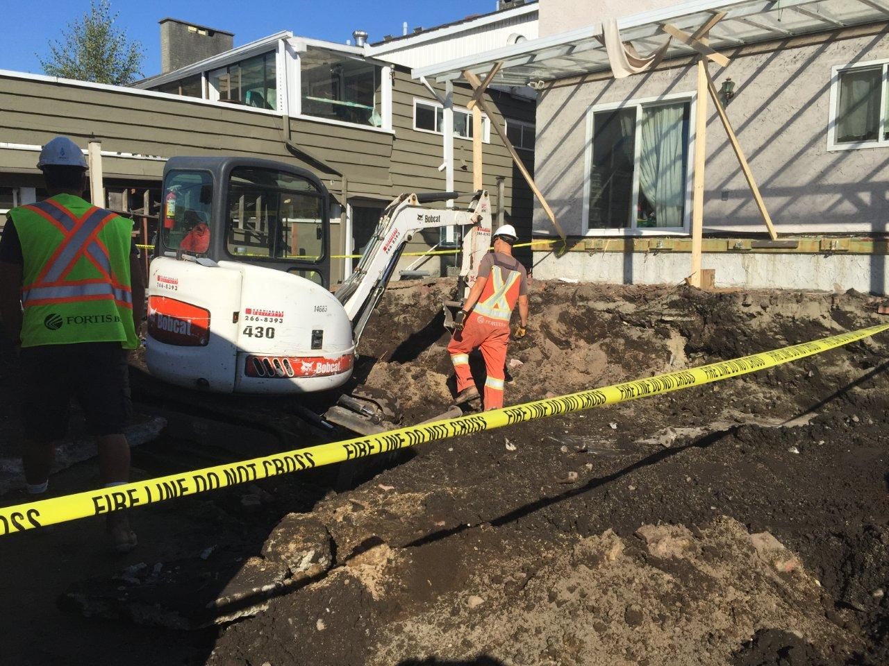 Construction Renovation excavation landscaping Vancouver